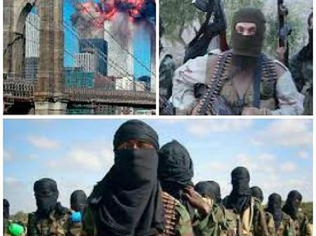 Top Ten Highest Countries Attacked By Terrorists
