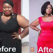 Checkout Throwback And Recent Photos Of Lepacious Bose and The Secret Behind Her Loss in Body Weight