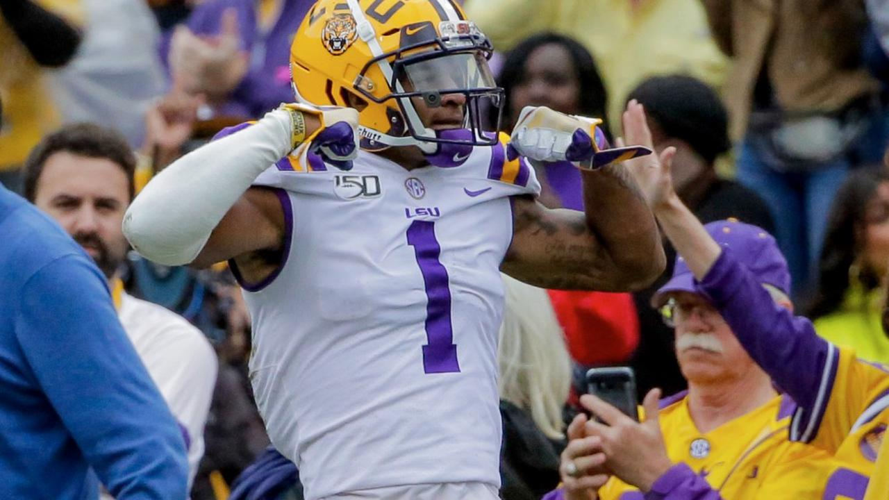 LSU WR Ja'Marr Chase rejoins Joe Burrow with Bengals in 2021 NFL Draft