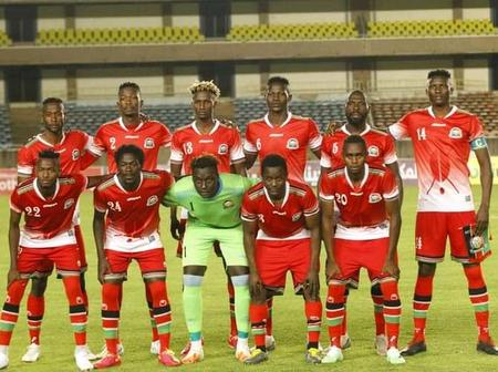 Harambee Stars 2022 World Cup Qualifying Fixtures Released