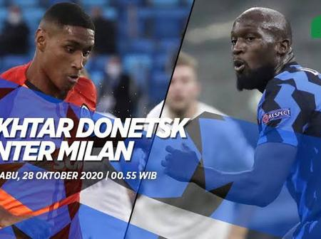 Shakhtar Donetsk vs Inter Milan: Team news and Preview