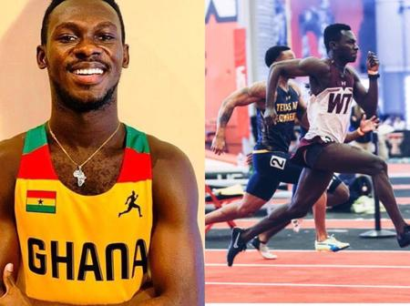 Ghanaian Sprinter, B. Azameti Emerges As the Fastest Man In 2021 And Breaks National Record In US