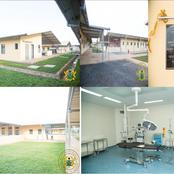 Reactions As President Akufo-Addo Commissions A 60-Bed Hospital In The Volta Region [Photos]