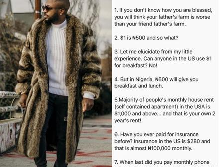 Tunde Ednut Shares Reasons By A Nigerian On Why Nigerians Should Not Relocate Abroad