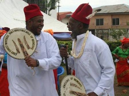 Two popular Hollywood actors  given titles in Igbo land
