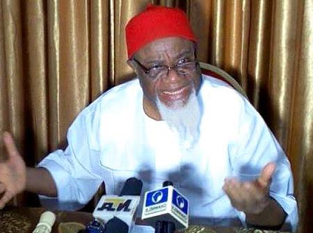 Ezeife Reveals Why South-East, South-South Might Withdraw Its Support For PDP Come 2023