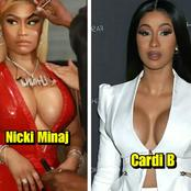 Between Nicki Minaj and Cardi B, Who Is More Beautiful and Stylish? (Photos)
