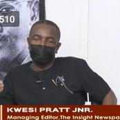 I am highly disappointed in you - Kwesi Pratt 'angrily' tells NDC MPs
