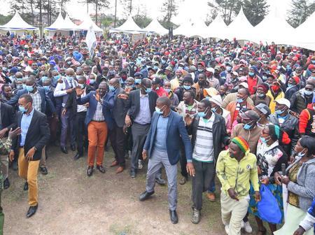 How DP Ruto Was Honoured in Kinangop, Nyandarua County