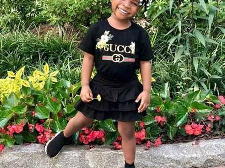 Check out the few times Davido's daughter, Imade gave us some fashion goals. (Photos)