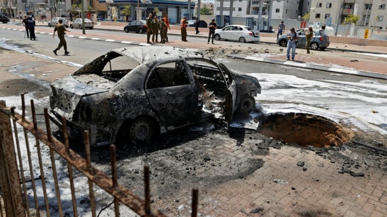 Escalade Hamas/Israël: pluie de roquettes vers Tel-Aviv, 28 Palestiniens tués à Gaza