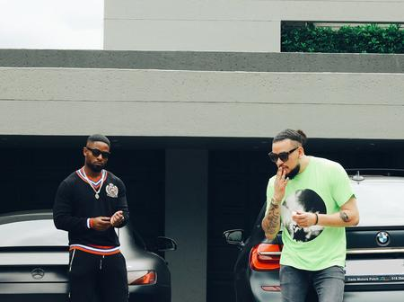 Rapper AKA And DJ Prince Kaybee 'Flex' With Their German Machines