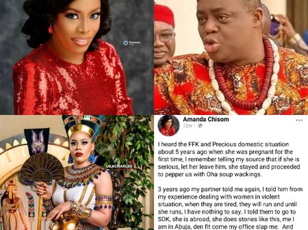 I Heard About Precious And FFK Domestic Situation About 5 Years Ago During Her First Pregnancy - Lady