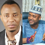 Find Another Target - Kogi Deputy Governor, Onoja Replies Sowore After He Congratulated His Daughter