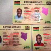 Photos Of The New Digital Smart Driving Licenses  In Kenya