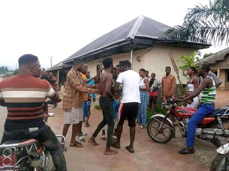Okada Man Stabbed A Man Because Of N300, Check Out What Youths Did To Him (Pictures)