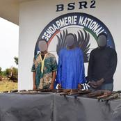 Bouaké / Côte-d'Ivoire : Un gang de coupeurs de route neutralisé par les gendarmes, des armes saisies