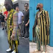 Between Burna Boy And Davido, Who Rocked This Kimono Jacket Better?