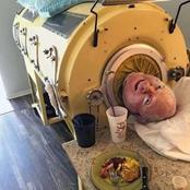 Meet the man who has lived in a machine for 69 years and his sad story (Photos)