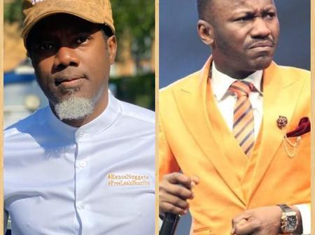 Check Out What Reno Omokri Said About Apostle Johnson Suleman