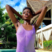 Akothee Daughter Rue Baby Leaves Netizens Talking After Posting This Photo on her Instagram Page