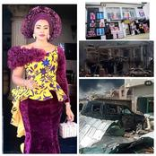 Just 5 months After This Nigeria Actress Lost Her Properties To Fire, See Her Present Conditions.