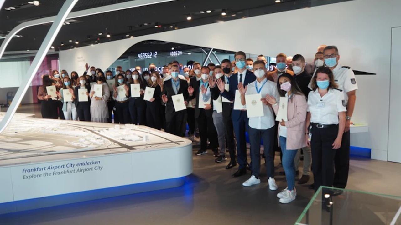 """HZA-F: 93 Berufsanfänger beim Hauptzollamt Frankfurt am Main - Willkommen im """"Team für mehr Gerechtigkeit in Deutschland"""""""