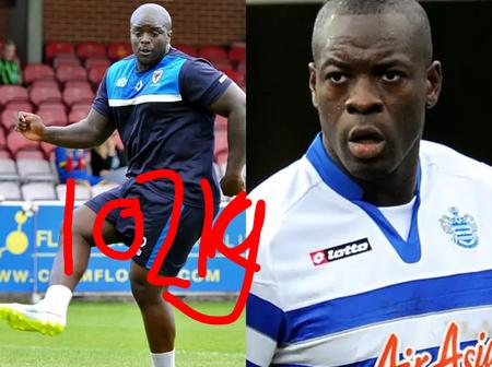 Forget About Adama Traore, See 2 Giants of Football With 102 Kilograms