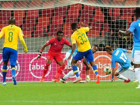 Themba Zwane scored as Mamelodi Sundowns leads 1-0 against Chippa United