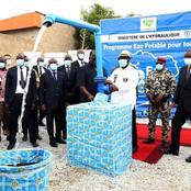 Eau potable : la première phase du projet d'alimentation en eau potable des régions de...