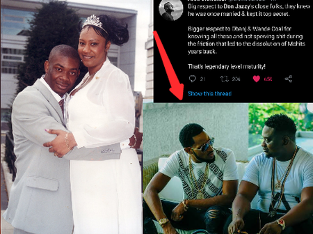 Photos: See Why Fans Hail Dbanj & Wande Coal After Don Jazzy Revealed His Failed Marriage
