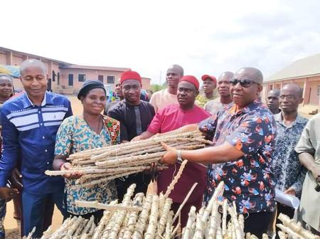 Cassava stem donation by Anambra lawmaker