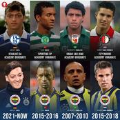 Robin Van Persie, Mesut Ozil And Other Big Football Stars That Signed For Fernerbahce