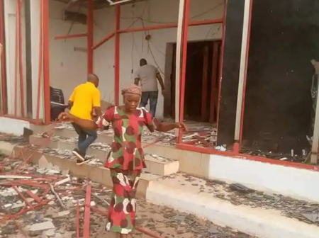 Armed Robbers Unleash Mayhem On Bank In Delta State, Cart Away Cash