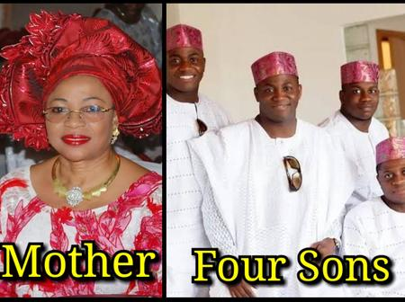 She Is A Mother Of Four Male Children, Meet The Richest Woman In Nigeria (PHOTOS)