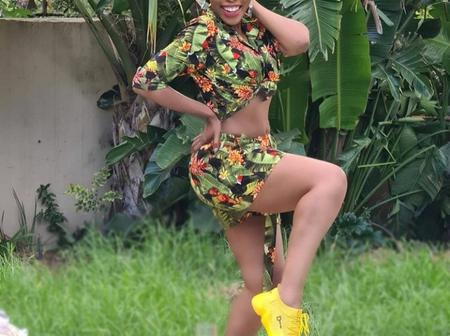 Lusanda Known As Boniswa Langa In Scandal And Her Family (Photos Included)