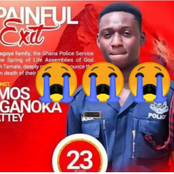 Finally The Burial Date Of Ghanaian Police Officer Killed By A Driver Surfaces Online