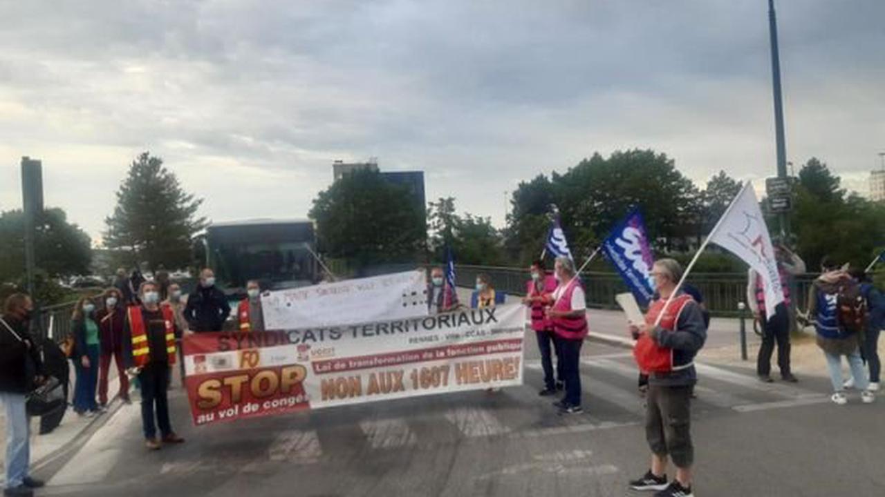 Rennes : les agents territoriaux toujours mobilisés