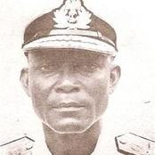 The first non-army officer to hold position of vice president under a military junta