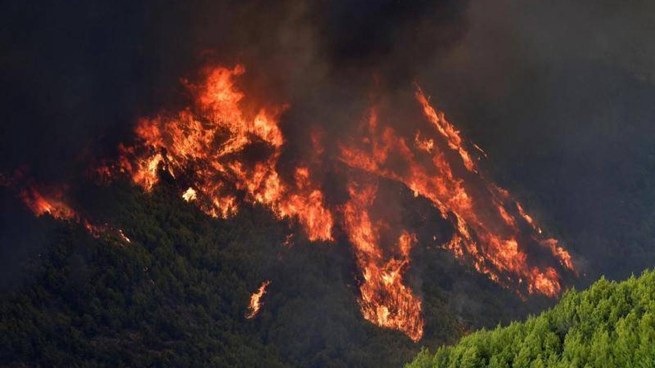 Katastrophen: Brände in Griechenland gefährden antikes Olympia