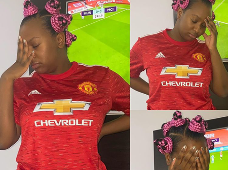 After Man United Won Last Night Match, Look At What Billionaire's Daughter, Cuppy Did