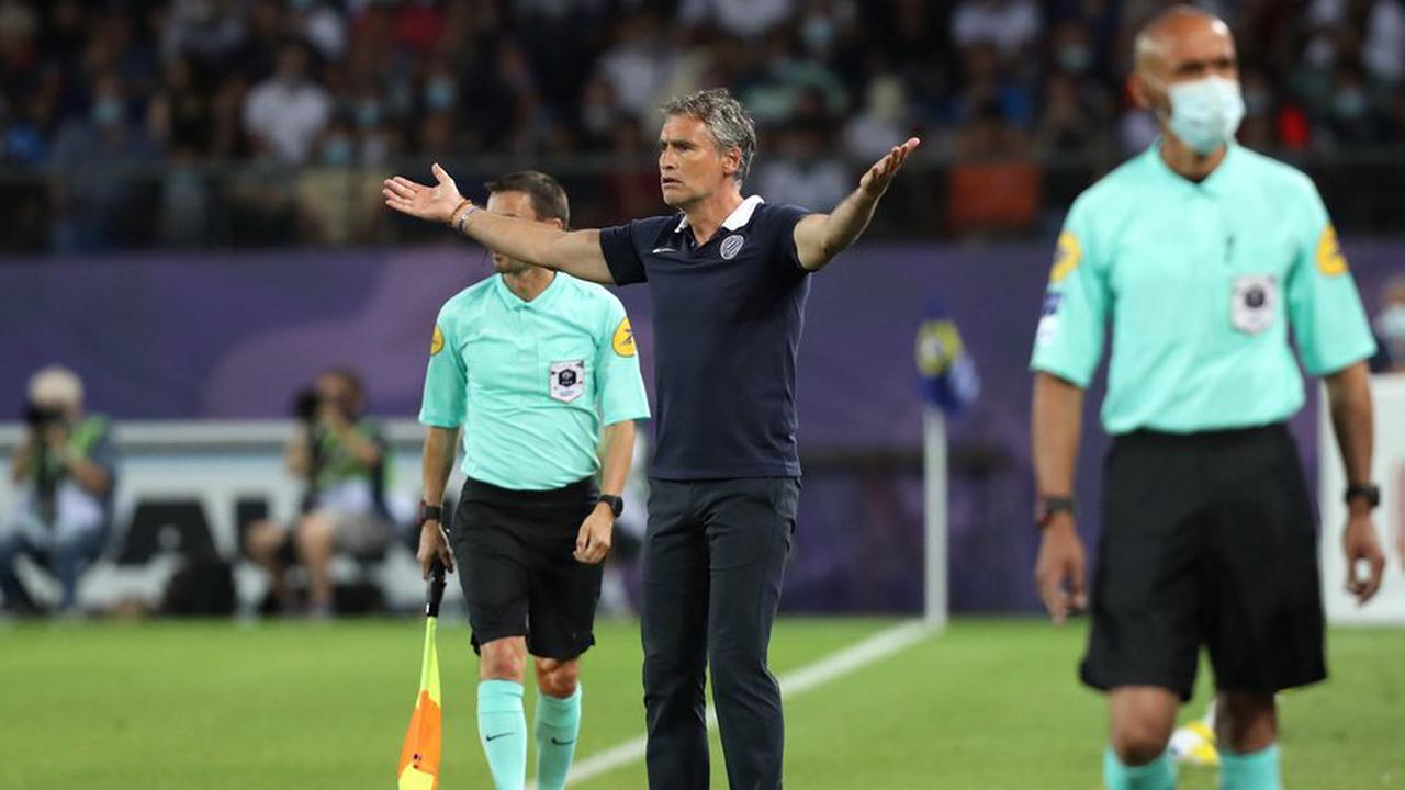 """Football : pour Olivier Dall'Oglio, après PSG - MHSC, """"on a manqué de tranchant en attaque"""""""