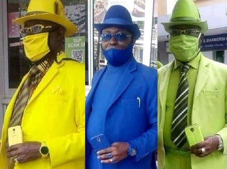 Meet The Man Who Dresses Like The Most Fashionable Man In Africa