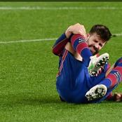 Gerard Pique set to miss the second leg of the 'round of 16' clash with PSG