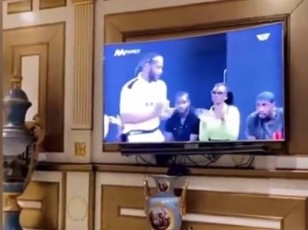 Kiddwaya watches his performance on BBN highlights [Pics]