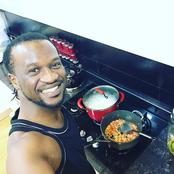 See pictures of Nigerian celebrities cooking in the kitchen