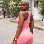 PHOTOS: Meet this stunning Nigerian fitness model; see how she works out and builds her body