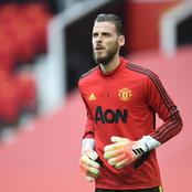 Not De Gea, See Man United Player That Will Start Ahead Of Him Against Man City On Sunday