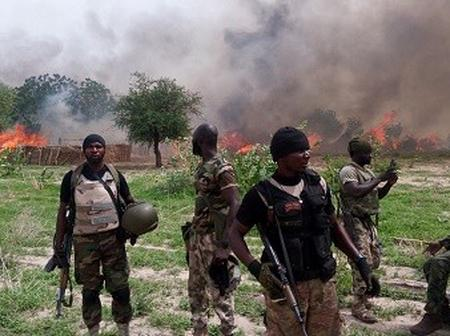 Bad Day For Bandits, See What Nigerian Soldiers Did To Dozens Of Them During An Air Mission