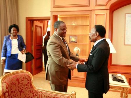 Soro Guillaume cite le nom de l'ancien Président du Gabon dans un de ses tweets